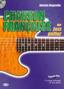 Antonio Ongarello Chanson Francaise for Jazz Guitar PDF