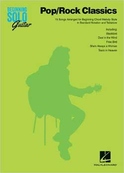 Beginning Solo Guitar Pop Rock Classics PDF
