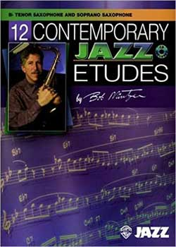 Bob Mintzer – 12 Contemporary Jazz Etudes PDF