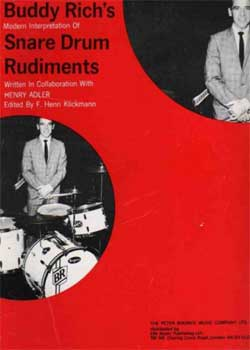 Buddy Rich – Modern Interpretation Of Snare Drum Rudiments