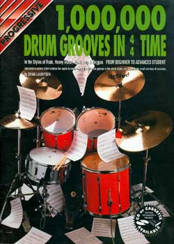 Craig Lauritsen – Progressive 1.000.000 Drum Grooves in 4/4 Time