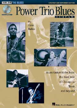 Dave Rubin Power Trio Blues Guitar PDF