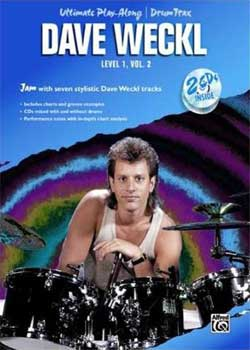 Dave Weckl – Ultimate Play Along Level 1, Volume 2