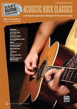 Easy Guitar Play-Along Acoustic Rock Classics PDF