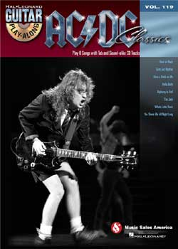 Guitar Play-Along Volume 119 – AC/DC Classics
