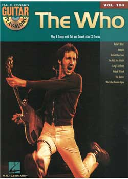 Guitar Play-Along Volume 108 – The Who