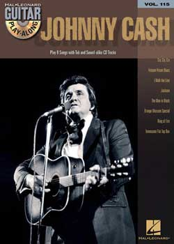 Guitar Play-Along Volume 115 – Johnny Cash