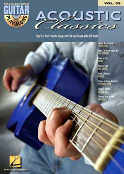 Guitar Play-Along Volume 33 Acoustic Classics PDF