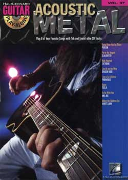 Guitar Play-Along Volume 37 Acoustic Metal PDF