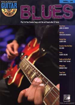 Guitar Play-Along Volume 38 Blues PDF