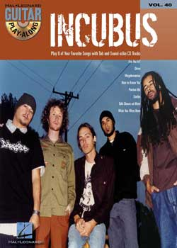 Guitar Play-Along Volume 40 Incubus PDF