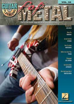 Guitar Play-Along Volume 55 Pop Metal PDF