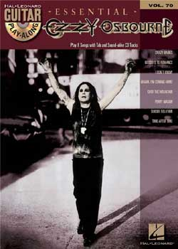 Guitar Play-Along Volume 70 Essential Ozzy Osbourne