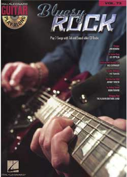 Guitar Play-Along Volume 73 Bluesy Rock