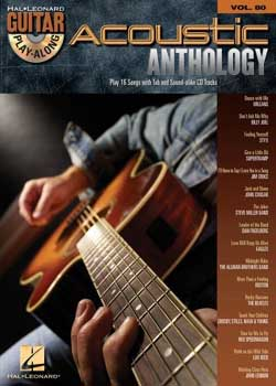 Guitar Play-Along Volume 80 Acoustic Anthology PDF