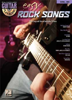 Guitar Play-Along Volume 82 Easy Rock Songs PDF