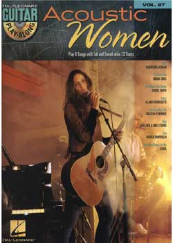 Guitar Play-Along Volume 87 Acoustic Women PDF