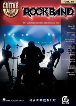 Guitar Play-Along Volume 98 Rock Band (Classic Rock Edition) PDF
