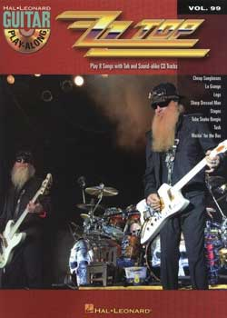Guitar Play-Along Volume 99 ZZ Top
