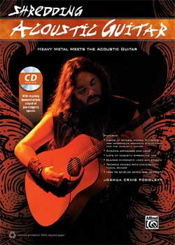 Joshua Craig Podolsky Shredding Acoustic Guitar PDF