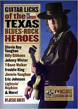 Jesse Gress Guitar Licks of the Texas Blues-Rock Heroes PDF