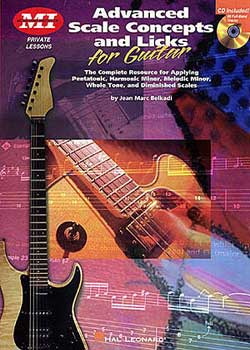 Jean Marc Belkadi Advanced Scale Concepts and Licks for Guitar PDF