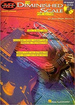 Jean Marc Belkadi The Diminished Scale Book for Guitar PDF
