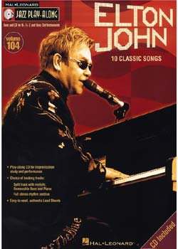 Jazz Play-Along Volume 104 Elton John