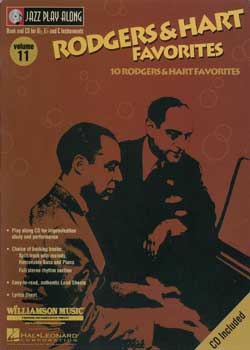 Jazz Play-Along Volume 11 Rodgers And Hart Favorites PDF