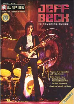 Jazz Play-Along Volume 135 Jeff Beck