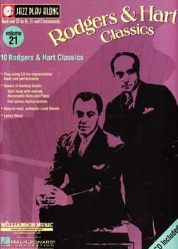 Jazz Play-Along Volume 21 Rodgers And Hart Classics PDF
