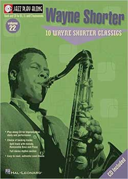 Jazz Play-Along Volume 22 Wayne Shorter PDF