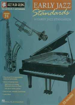 Jazz Play-Along Volume 24 Early Jazz Standards PDF