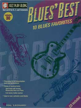 Jazz Play-Along Volume 30 – Blues' Best
