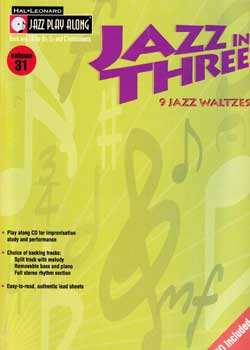 Jazz Play-Along Volume 31 Jazz In Three PDF