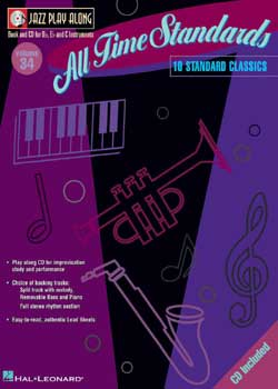 Jazz Play-Along Volume 34 All Time Standards PDF