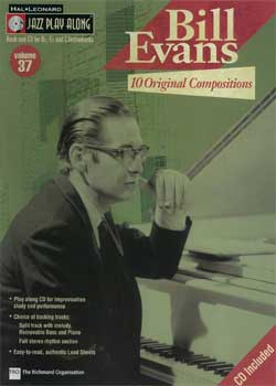 Jazz Play-Along Volume 37 – Bill Evans