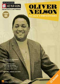 Jazz Play-Along Volume 44 Oliver Nelson