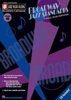 Jazz Play-Along: Volume 46 Broadway Jazz Standards PDF