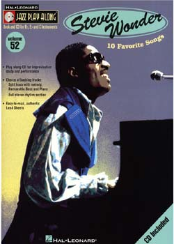 Jazz Play-Along Volume 52 – Stevie Wonder