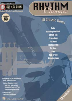 Jazz Play-Along: Volume 53 Rhythm Changes PDF