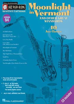 Jazz Play-Along Volume 54 Moonlight in Vermont PDF