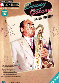 Jazz Play-Along Volume 55 – Benny Golson