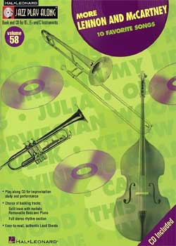 Jazz Play-Along Volume 58 More Lennon and McCartney PDF