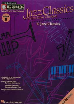 Jazz Play-Along Volume 6 Jazz Classics With Easy Changes PDF