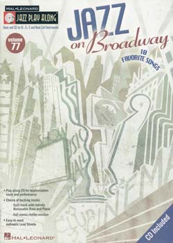 Jazz Play-Along Volume 77 Jazz on Broadway PDF
