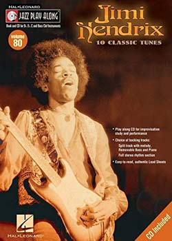 Jazz Play-Along Volume 80 – Jimi Hendrix