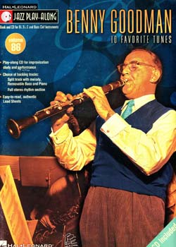 Jazz Play-Along Volume 86 Benny Goodman PDF