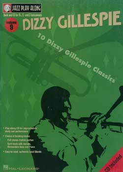 Jazz Play-Along Volume 9 Dizzy Gillespie