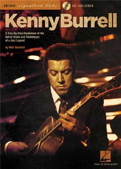 Kenny Burrell Guitar Signature Licks PDF
